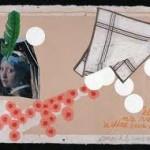 Mark Brusse Elle n'a rien à dire sur Dali – 2009 collage