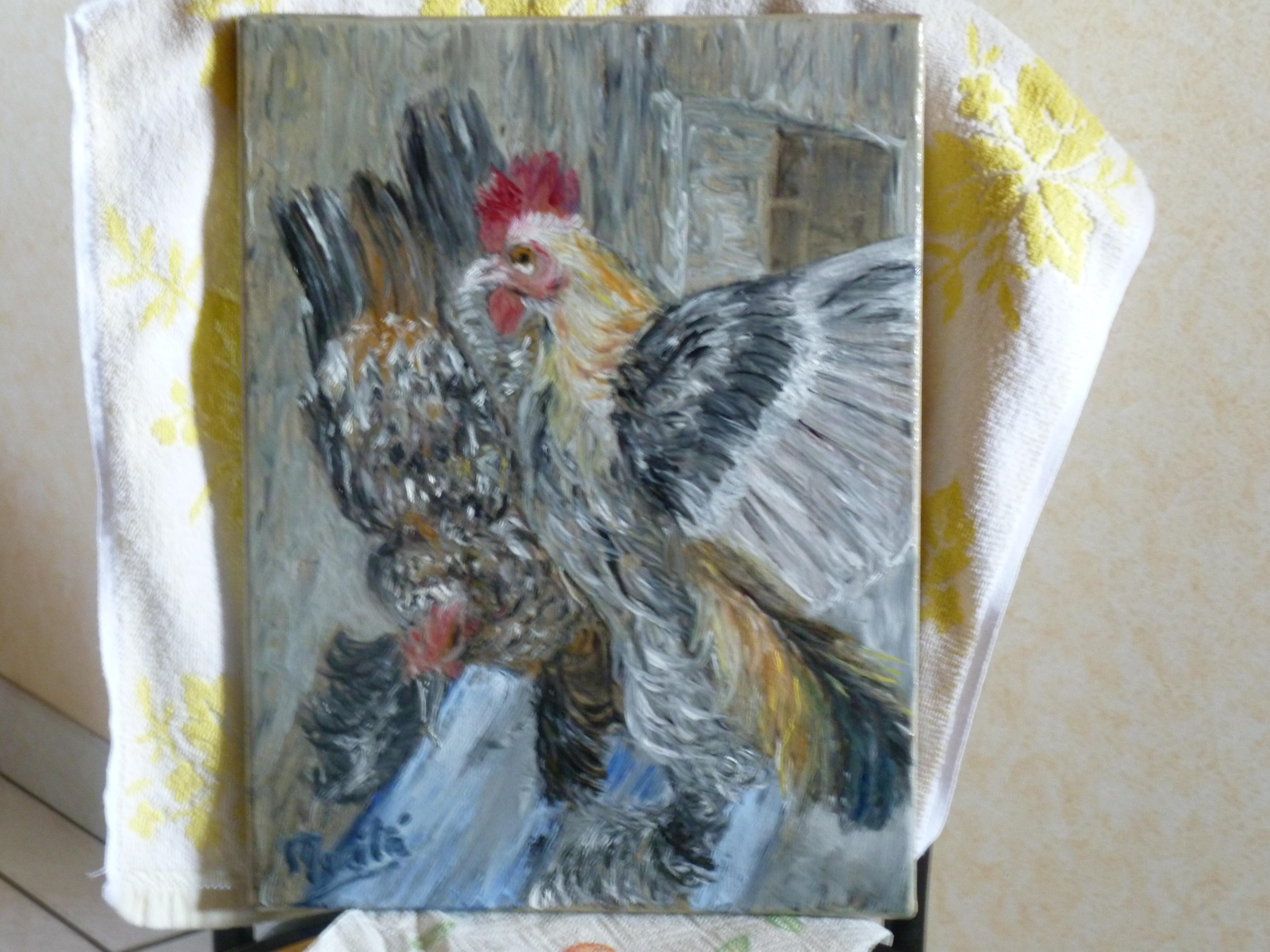 Peindre l huile alla prima artiste story culture - Peindre sur peinture acrylique ...